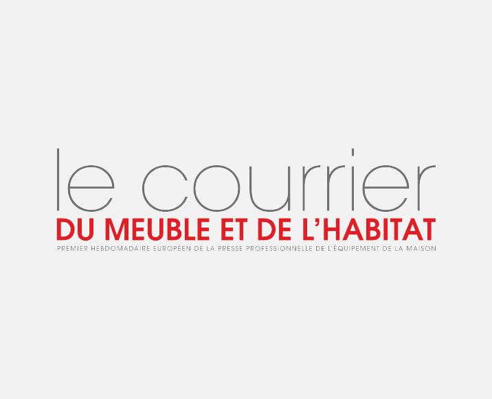 Logo Courrier du meuble - intramurosgroup